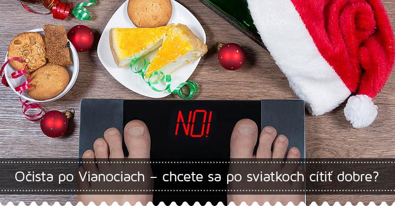 Očista po Vianociach – chcete sa po sviatkoch cítiť dobre?