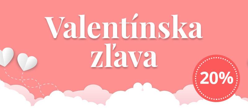 Valentínska zľava 20%