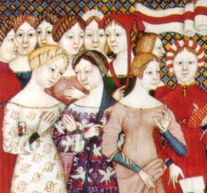 Talianske ženy v stredoveku