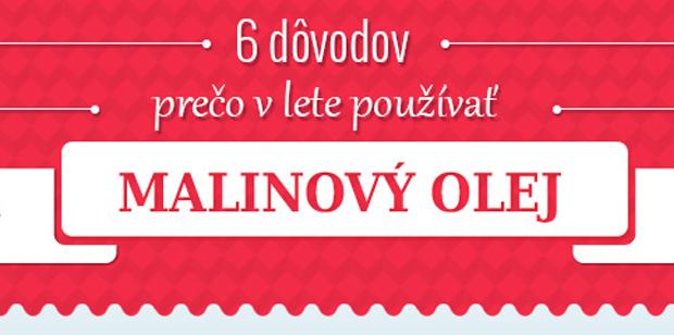 6 dôvodov prečo v lete používať malinový olej