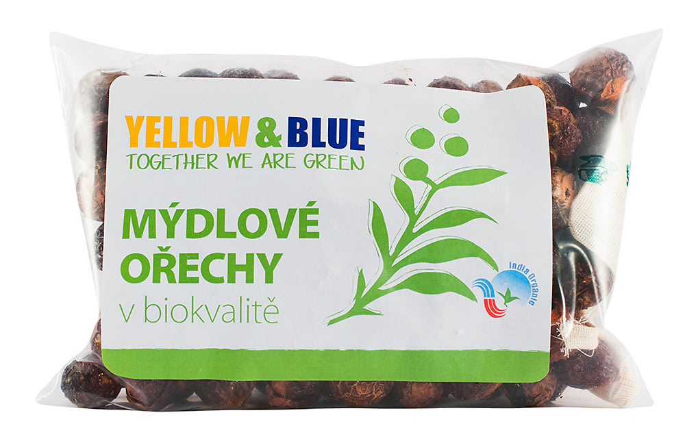 Yellow and Blue Mydlové orechy 250 g