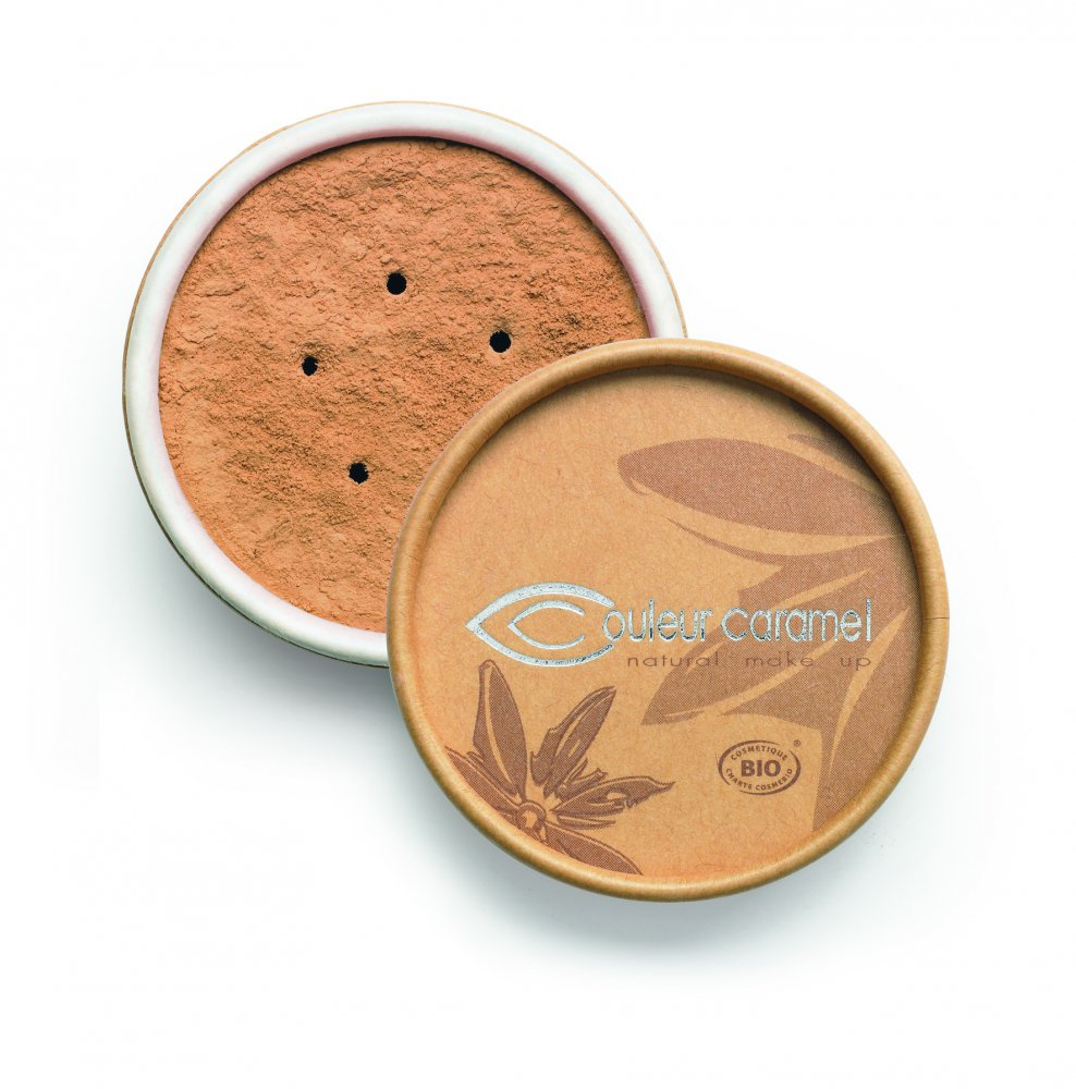 Couleur Caramel Bio minerálny make-up 6g Apricot beige