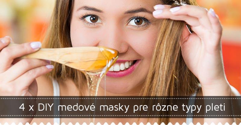 4 x DIY medové masky pre rôzne typy pleti