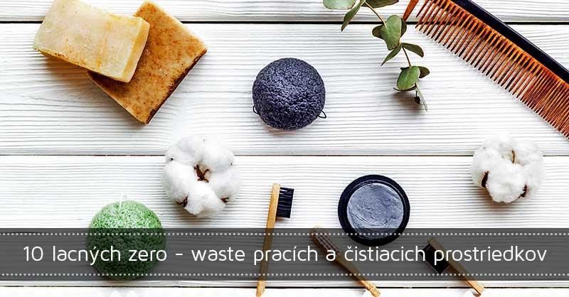 10 lacných zero-waste pracích a čistiacich prostriedkov