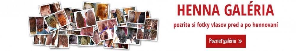 Henna galéria - pozrite si fotky vlasov pre a po hennovaní