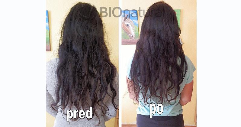 Mahagónová a bordová henna na vlasy