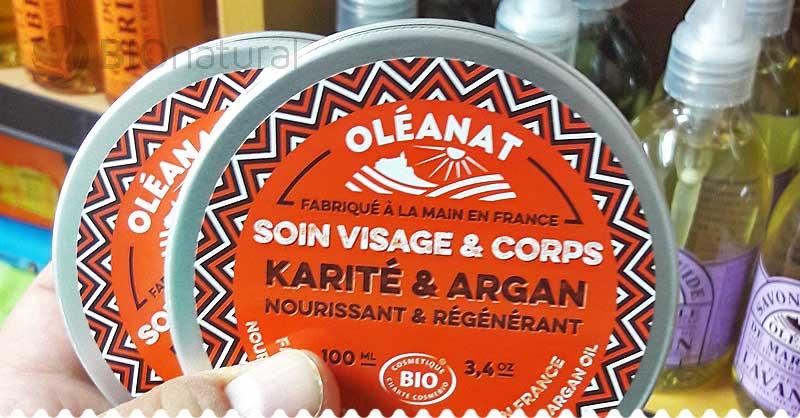 Bambucké maslo s arganovým olejom Oléanat