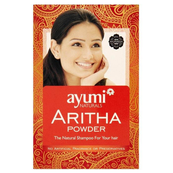 Ayumi naturals Aritha Powder 100 g, vlasový zábal a šampón