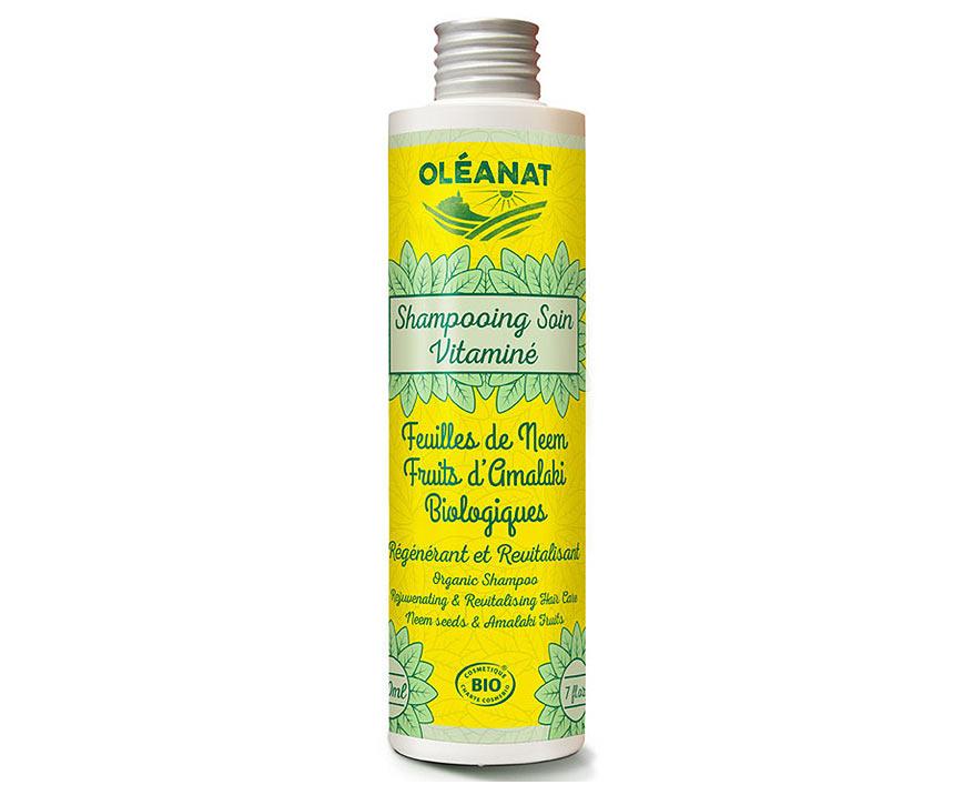 Oléanat Bio šampón s nimbou a amlou, 200 ml
