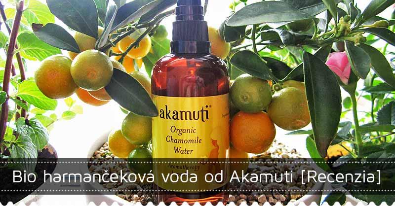 Bio harmančeková kvetinová voda Akamuti