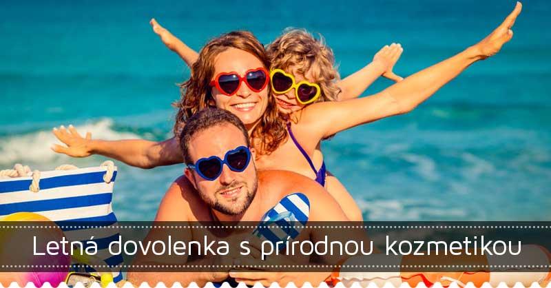 Letná dovolenka s prírodnou kozmetikou