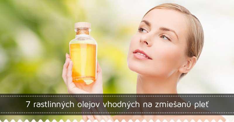7 rastlinných olejov vhodných na zmiešanú pleť