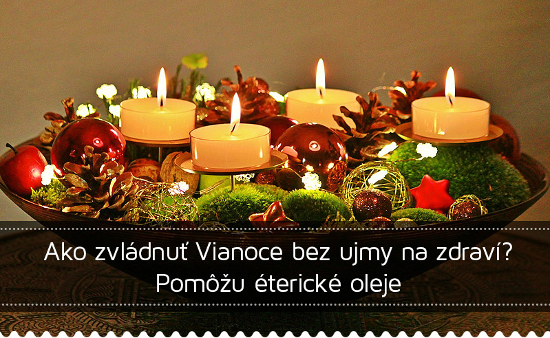 Esenciálne oleje a Vianoce