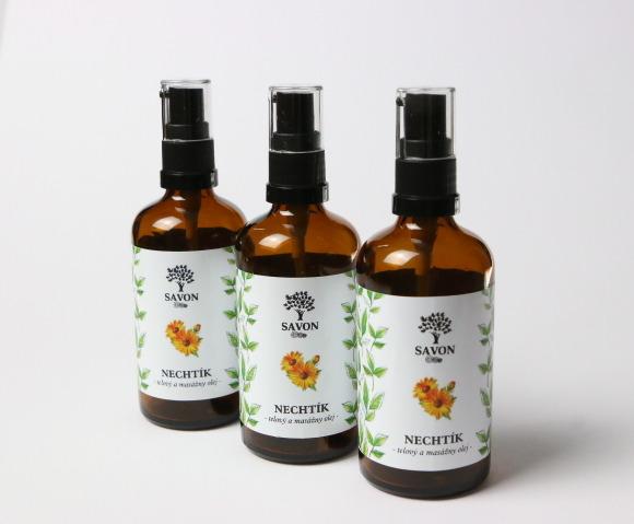 Savon Nechtík - telový a masážny olej 100 ml