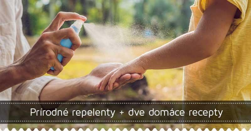 Prírodné repelenty + dve domáce recepty