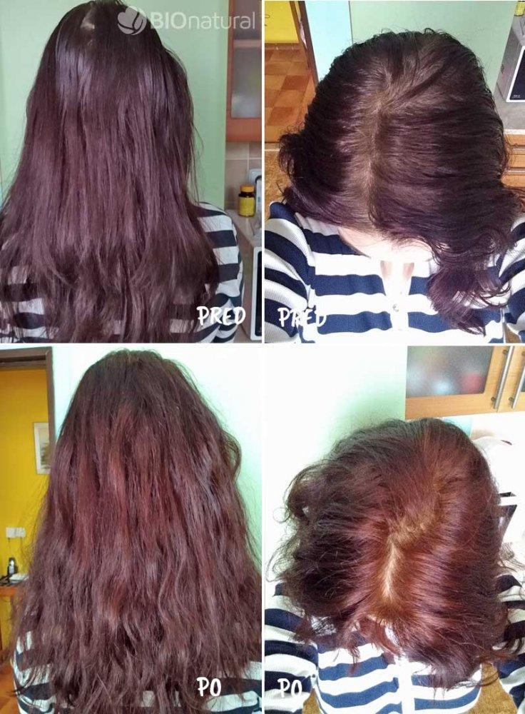 Mahagónová henna na vlasy