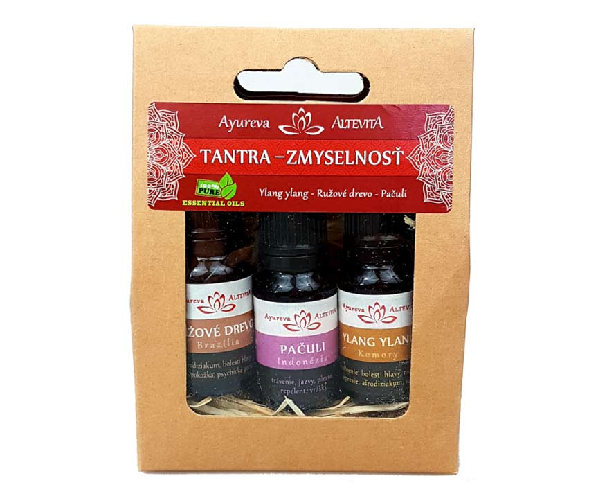 Altevita Set olejov Tantra a zmyselnosť, 3 x 10 ml