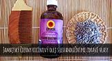 Jamajský čierny ricínový olej s levanduľou pre zdravé vlasy