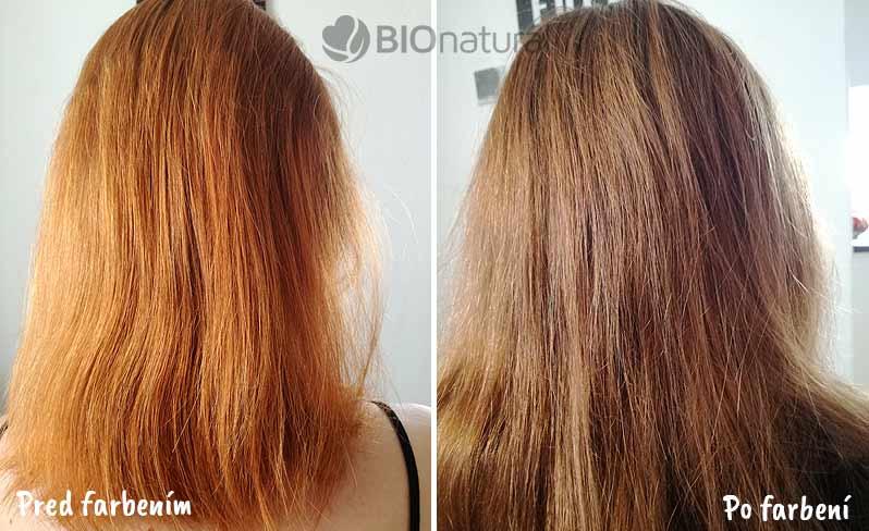 Hnedá henna na vlasy Henné Color Paris