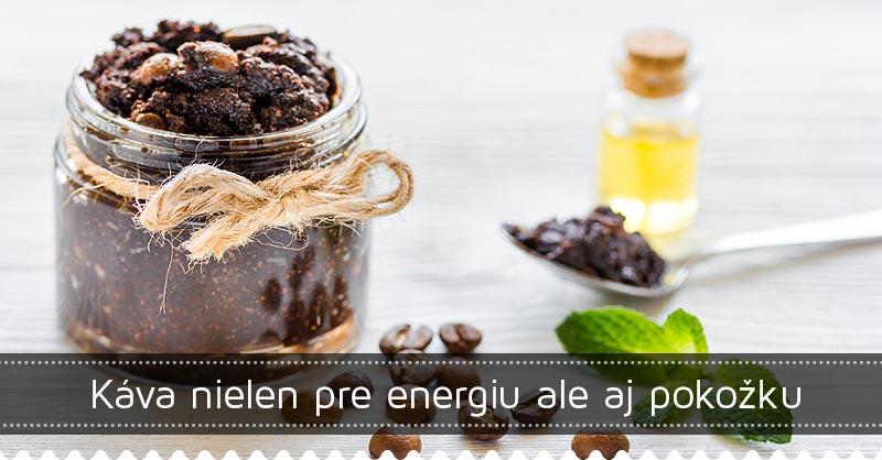 Káva nielen pre energiu ale aj pokožku