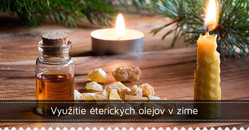Využitie éterických olejov v zime