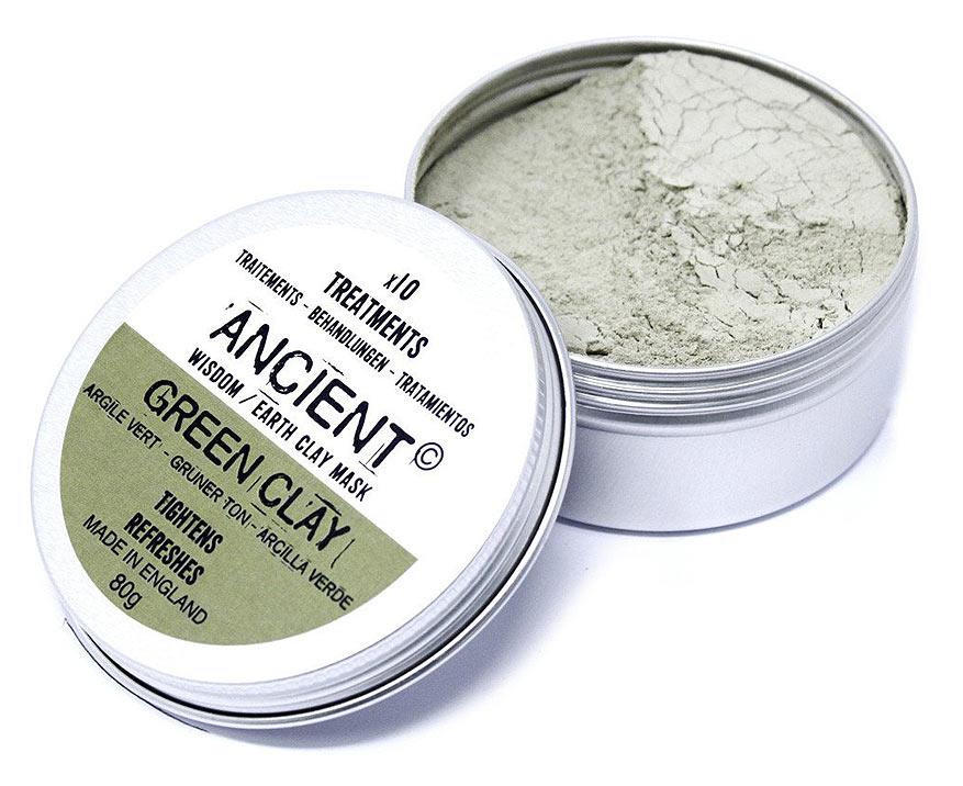 Ancient Wisdom Zelený íl 80 g
