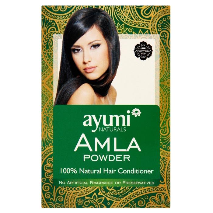 Ayumi naturals Amla Powder, prírodný vlasový kondicionér, 100 g