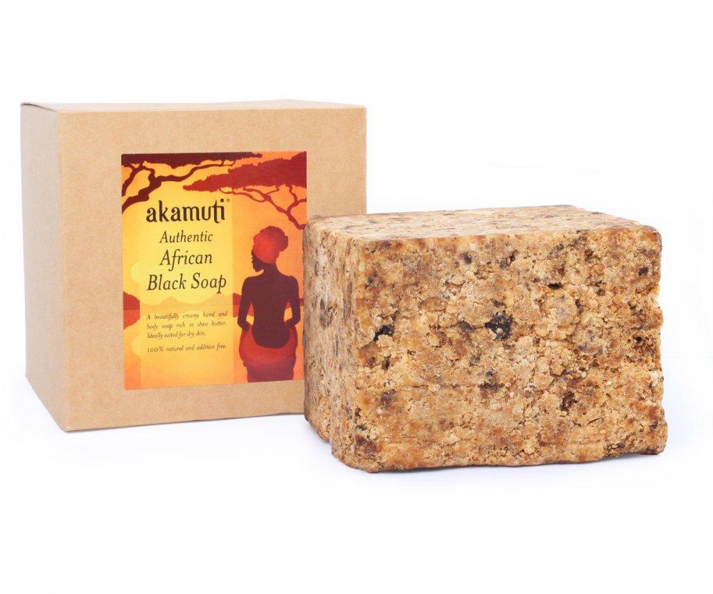 Akamuti Africké čierne mydlo 500 g
