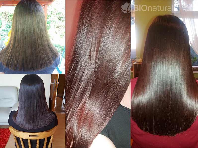 Henna BAQ a hnedá henna na vlasy