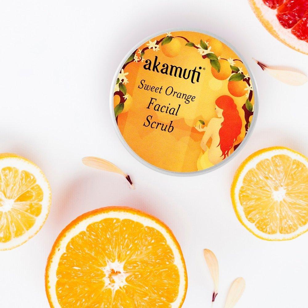 Divoký pomaranč, pleťový píling