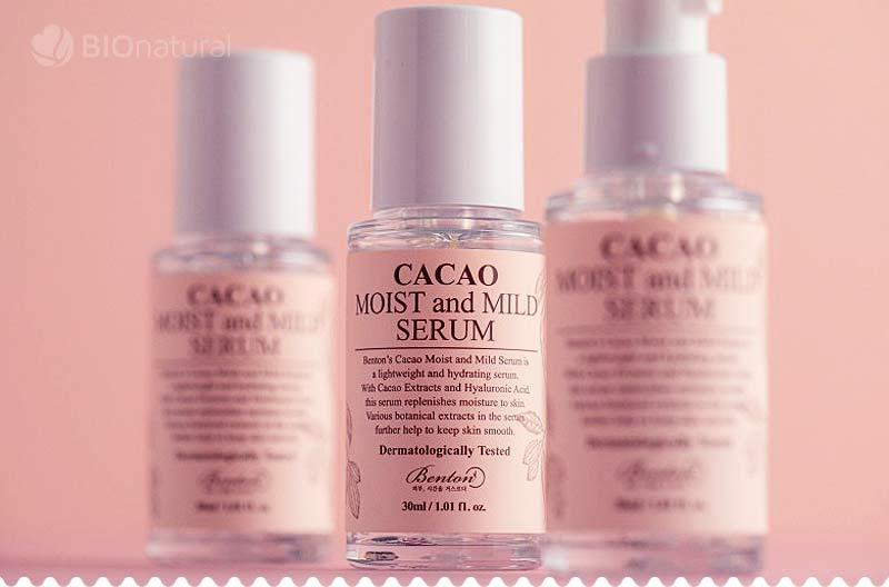 Jemné a hydratačné kakaové sérum 30 ml