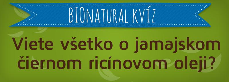 Bionatural kvíz na facebooku