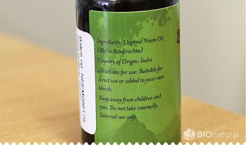 Bio nimbový (neem) olej Akamuti