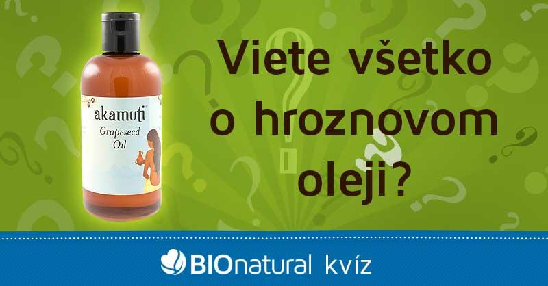 Viete všetko o hroznovom oleji?