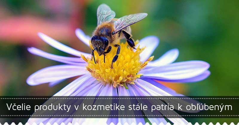Včelie produkty v kozmetike stále patria k obľúbeným