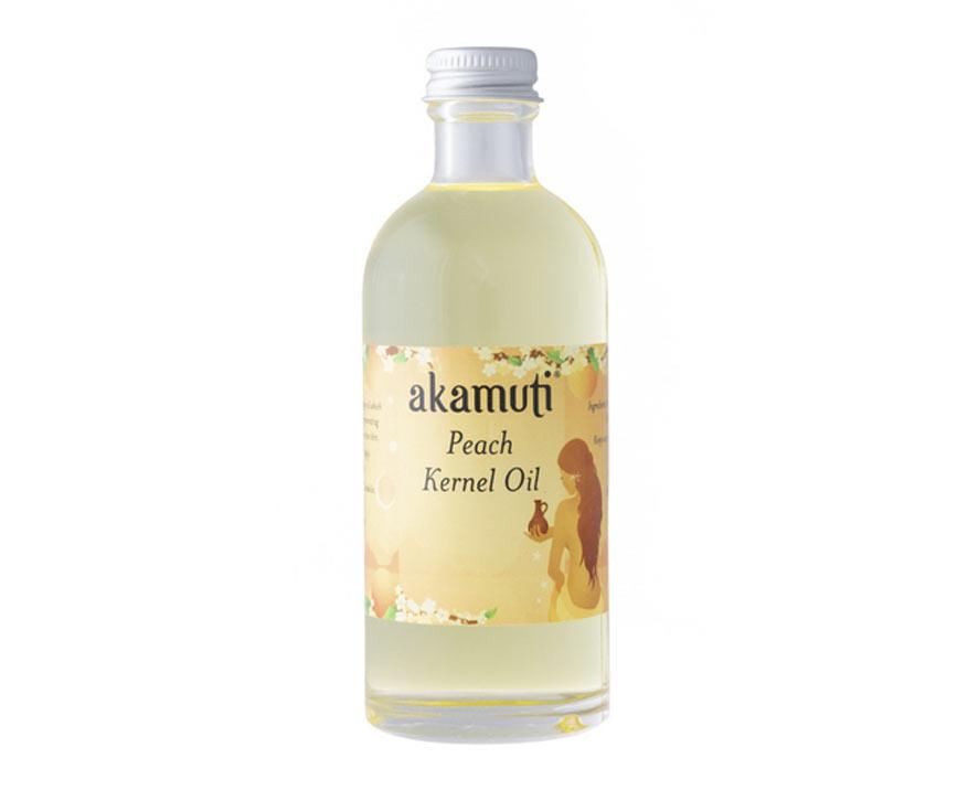 Akamuti Broskyňový olej 100 ml