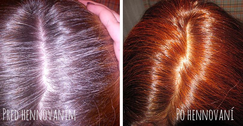 Farbené vlasy hennou BAQ