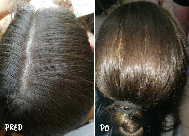 Medená a čierna henna na vlasy