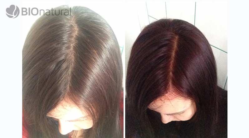 Bordová henna na vlasy Henné Color Paris
