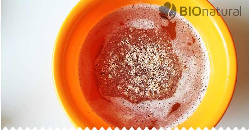 DIY tuhý telový balzam - pridáme rozomletú ryžu a mandle
