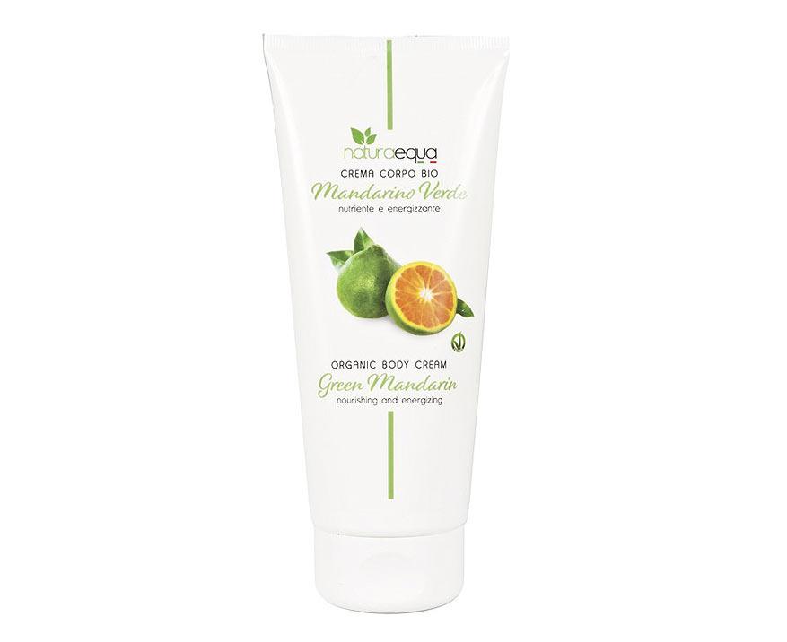 NaturaEqua Bio telový krém Zelená mandarínka 200 ml