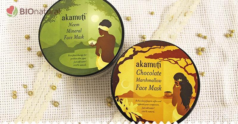 Tip na darček - Nimbová a Čokoládová maska Akamuti