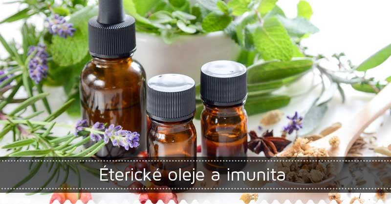 Éterické oleje a imunita