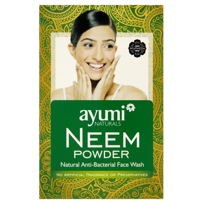Ayumi naturals Neem Powder, silné prírodné tonikum, 100 g