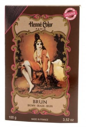 Hnedá (brun) henna na vlasy