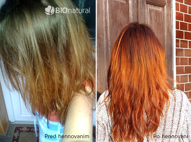 Medená henna na vlasy