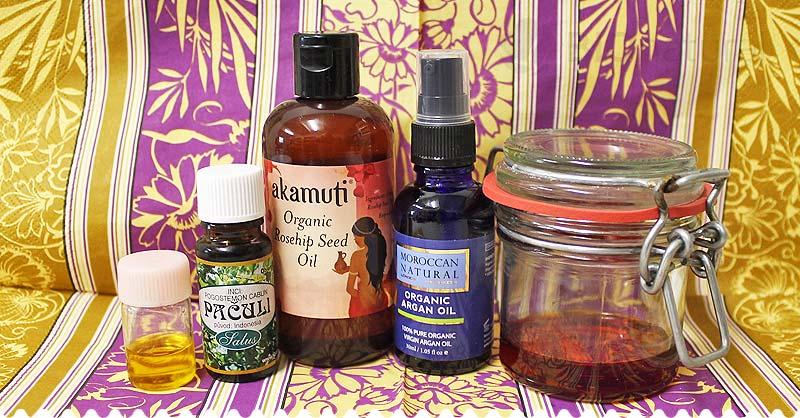 DIY olejové sérum proti jazvám, striám apopraskanej pokožke