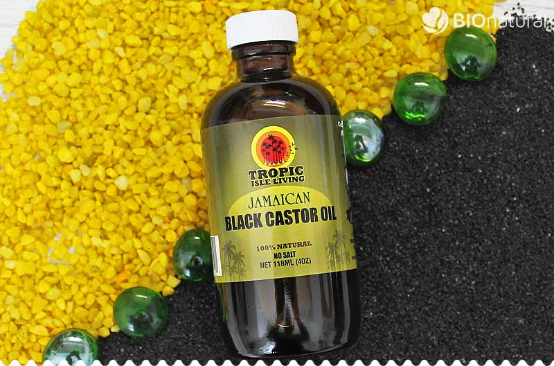 Jamajský čierny ricínový olej