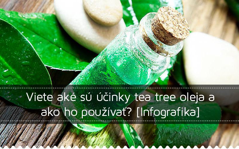 Viete aké sú účinky tea tree oleja a ako ho používať?