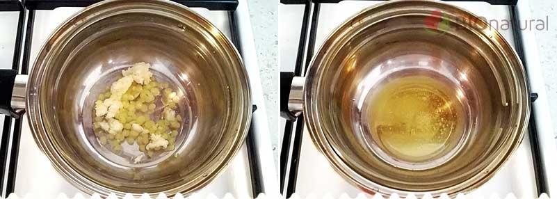 DIY balzam na pery - roztápame